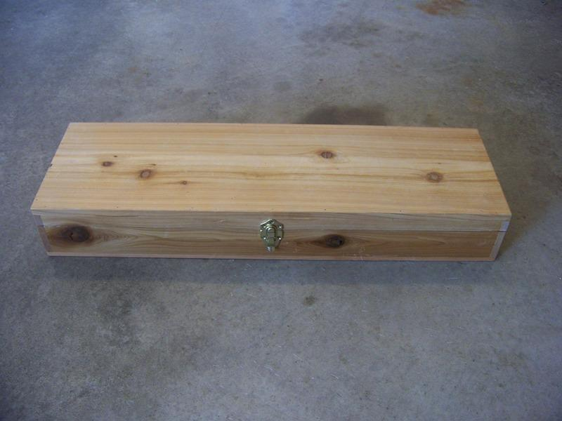 Vanderhoff construction for Ice fishing rod case